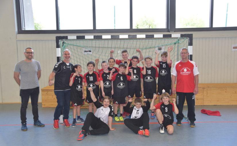 Erfolgreiche Freundschaftsspiele der männl. D-Jugend gegen Forst und die Rhein-Neckar-Löwen