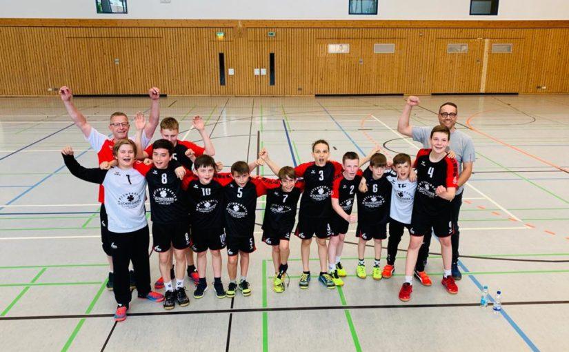 Männliche D1-Jugend für Landesliga qualifiziert