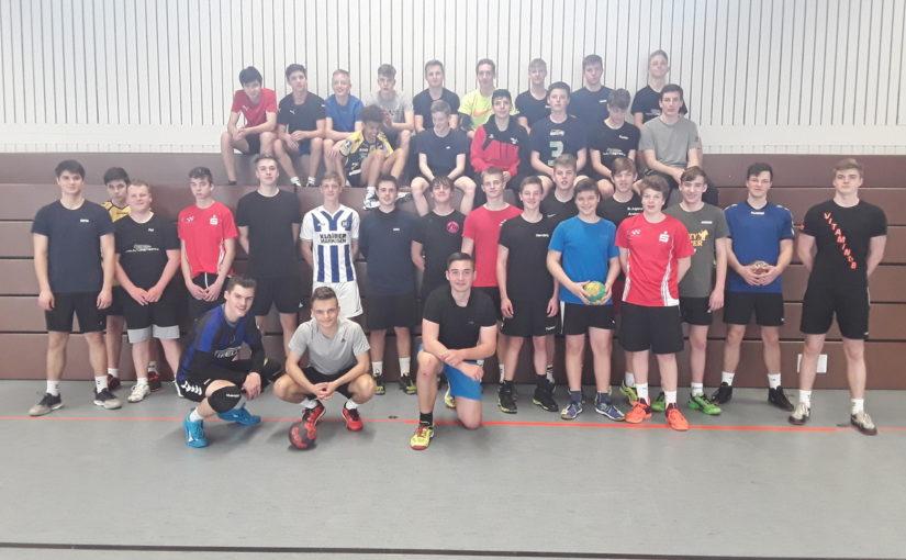 Intensives Trainingswochenende der männlichen A- und B-Jugend