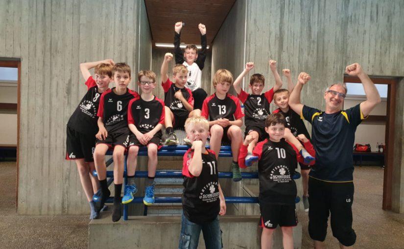 Männliche D2-Jugend für 1. Kreisliga qualifiziert