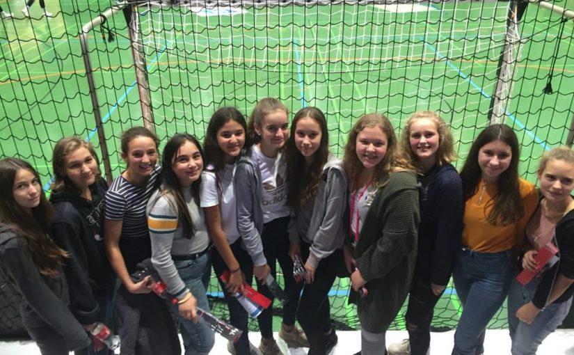 Besuch der w. C-Jugend beim Damen Bundesligaspiel in Neckarsulm