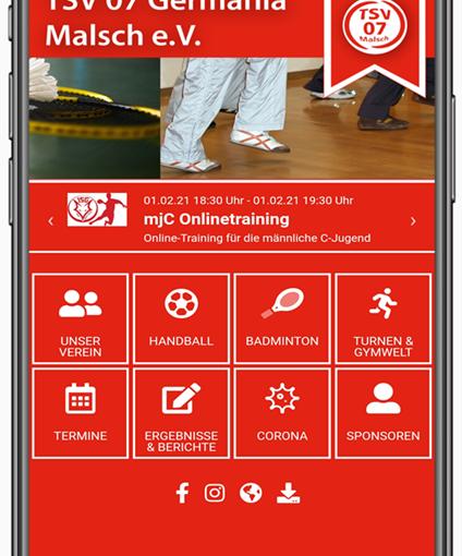 Neue Vereins-App ist da