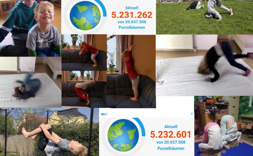 TSV-Kids schaffen 1.339 Purzelbäume